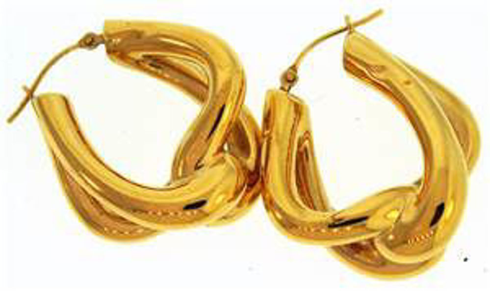 Picture of Earrings 14kt-2.4 DWT, 3.7 Grams