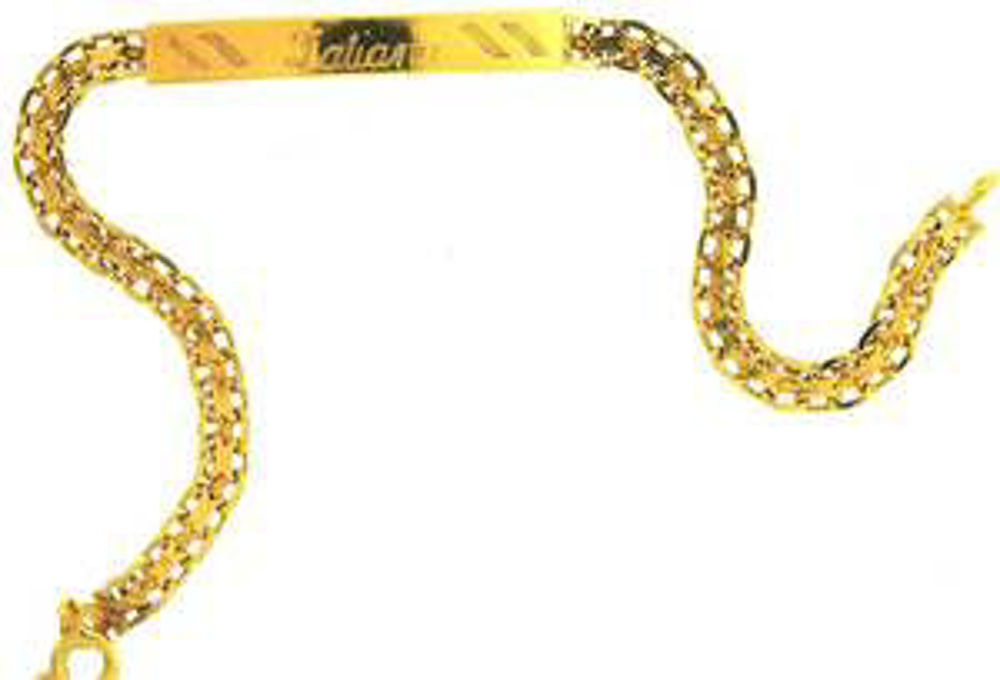 Picture of Bracelets 18kt-5.1 DWT, 7.9 Grams