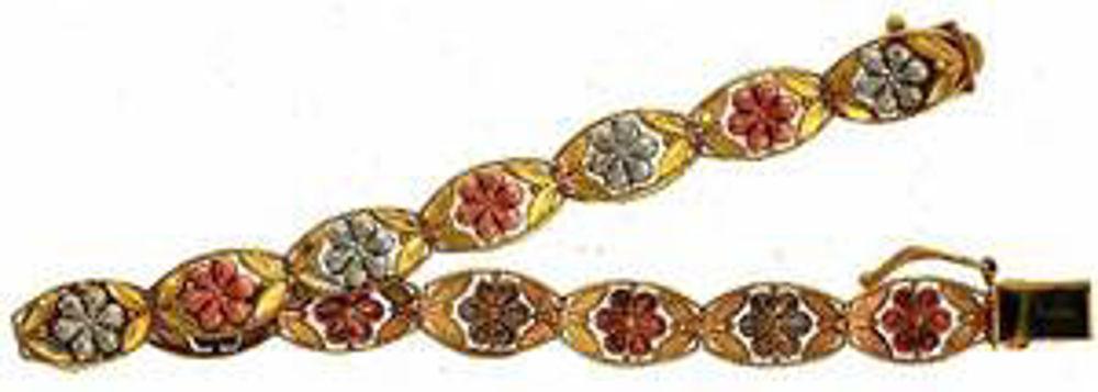 Picture of Bracelets 10kt-6.2 DWT, 9.6 Grams