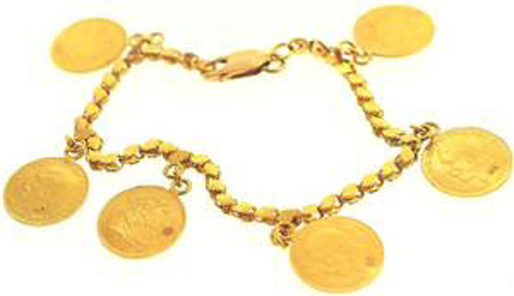 Picture of Bracelets 22kt-13.9 DWT, 21.6 Grams