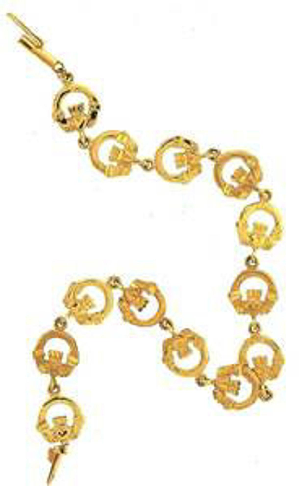 Picture of Bracelets 14kt-3.4 DWT, 5.3 Grams