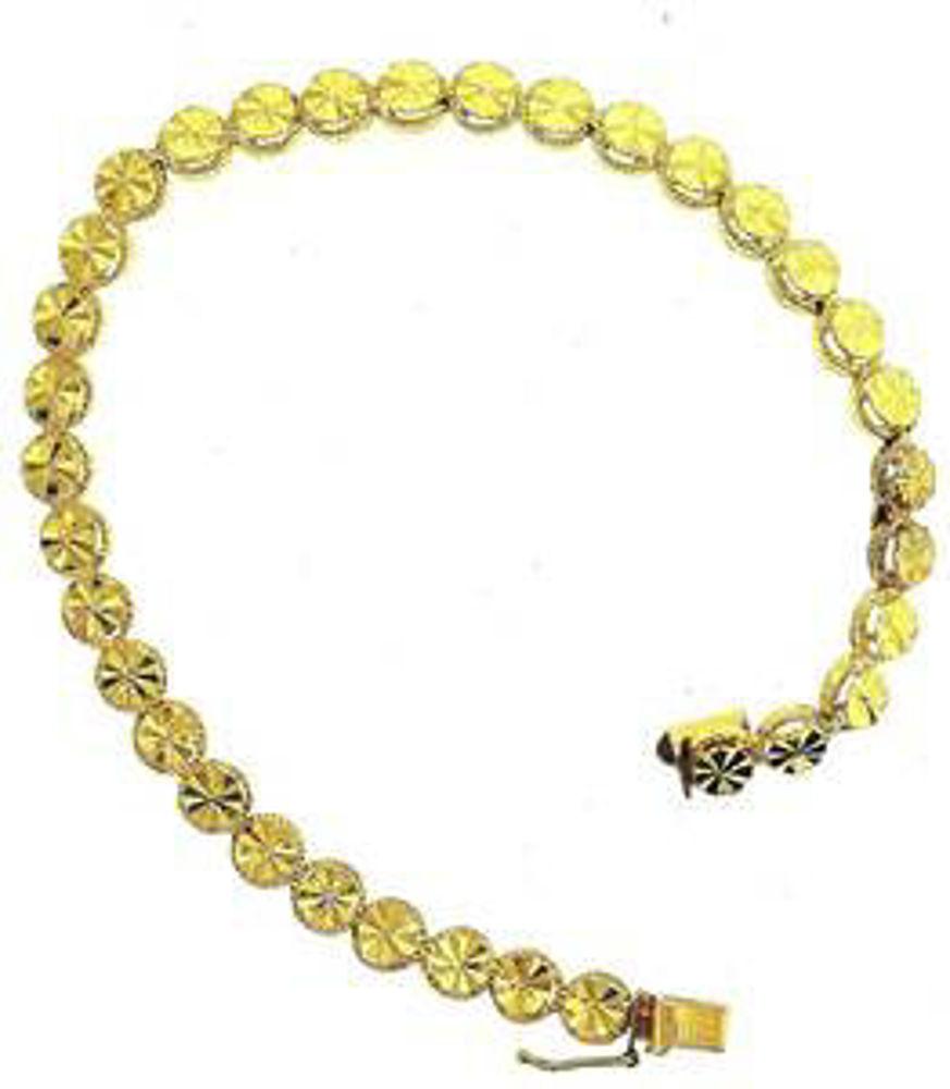 Picture of Bracelets 14kt-4.3 DWT, 6.7 Grams