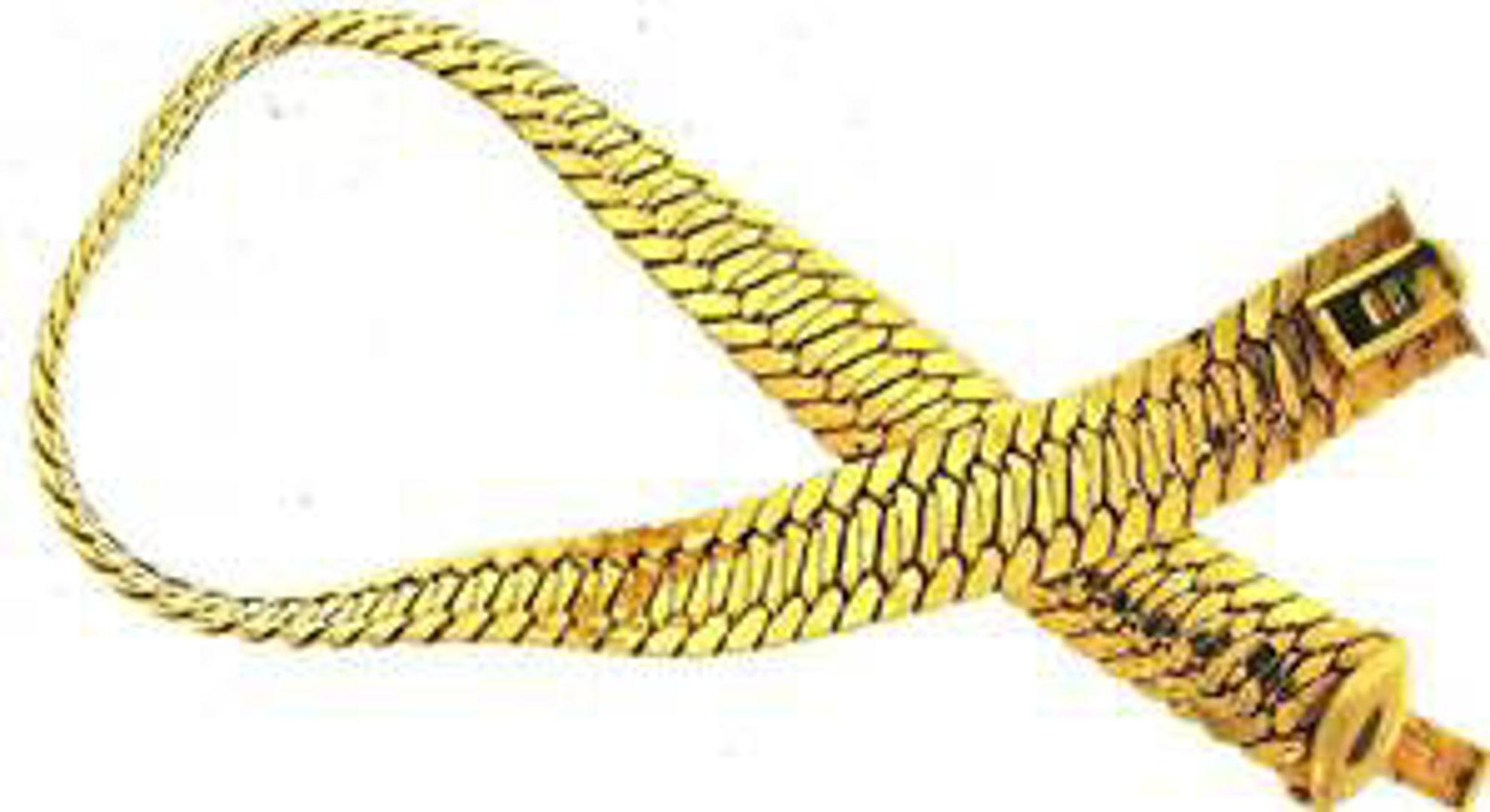 Picture of Bracelets 14kt-5.3 DWT, 8.2 Grams