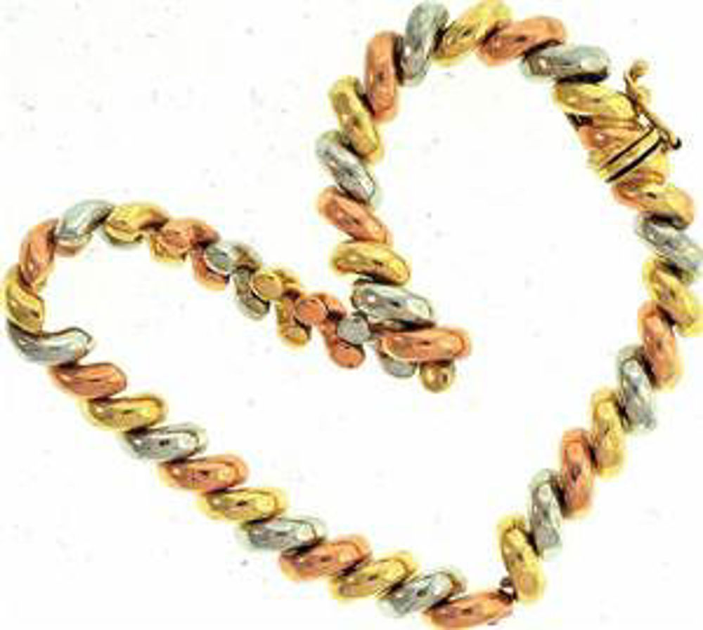 Picture of Bracelets 14kt-6.3 DWT, 9.8 Grams