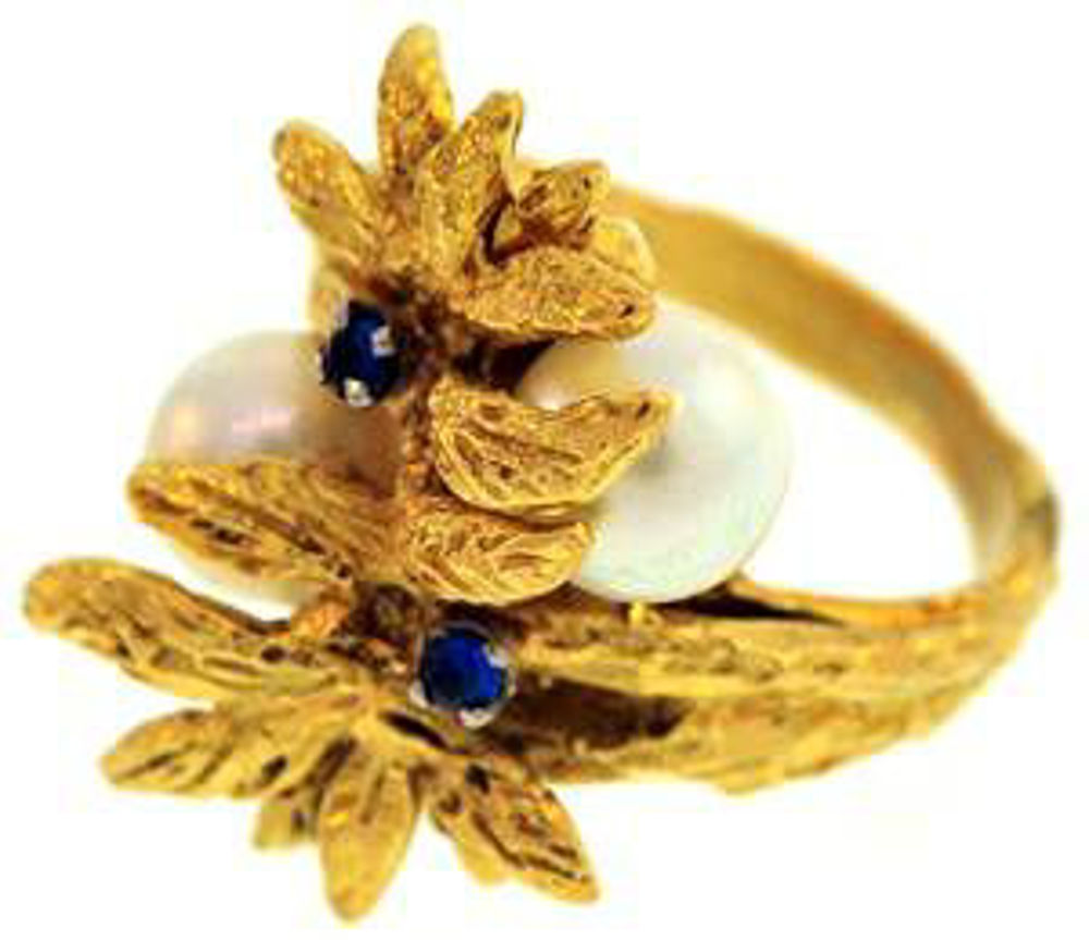 Picture of Ladies' Rings 18kt-6.6 DWT, 10.3 Grams