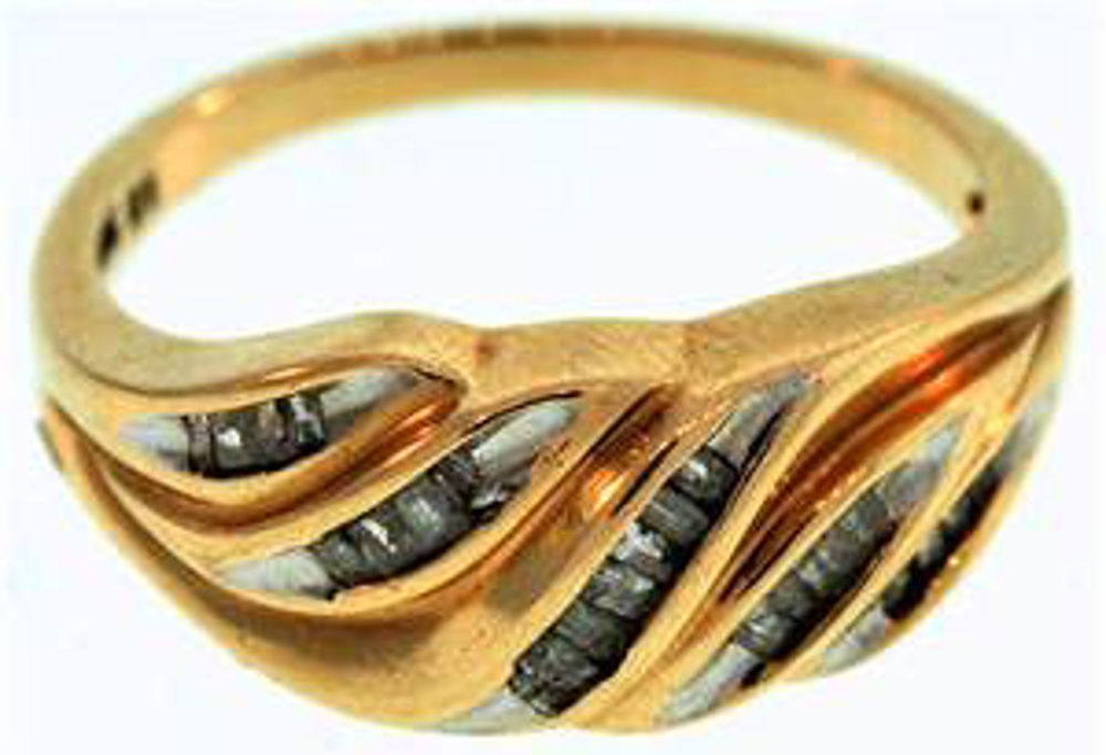 Picture of Ladies' Rings 10kt-2.0 DWT, 3.1 Grams