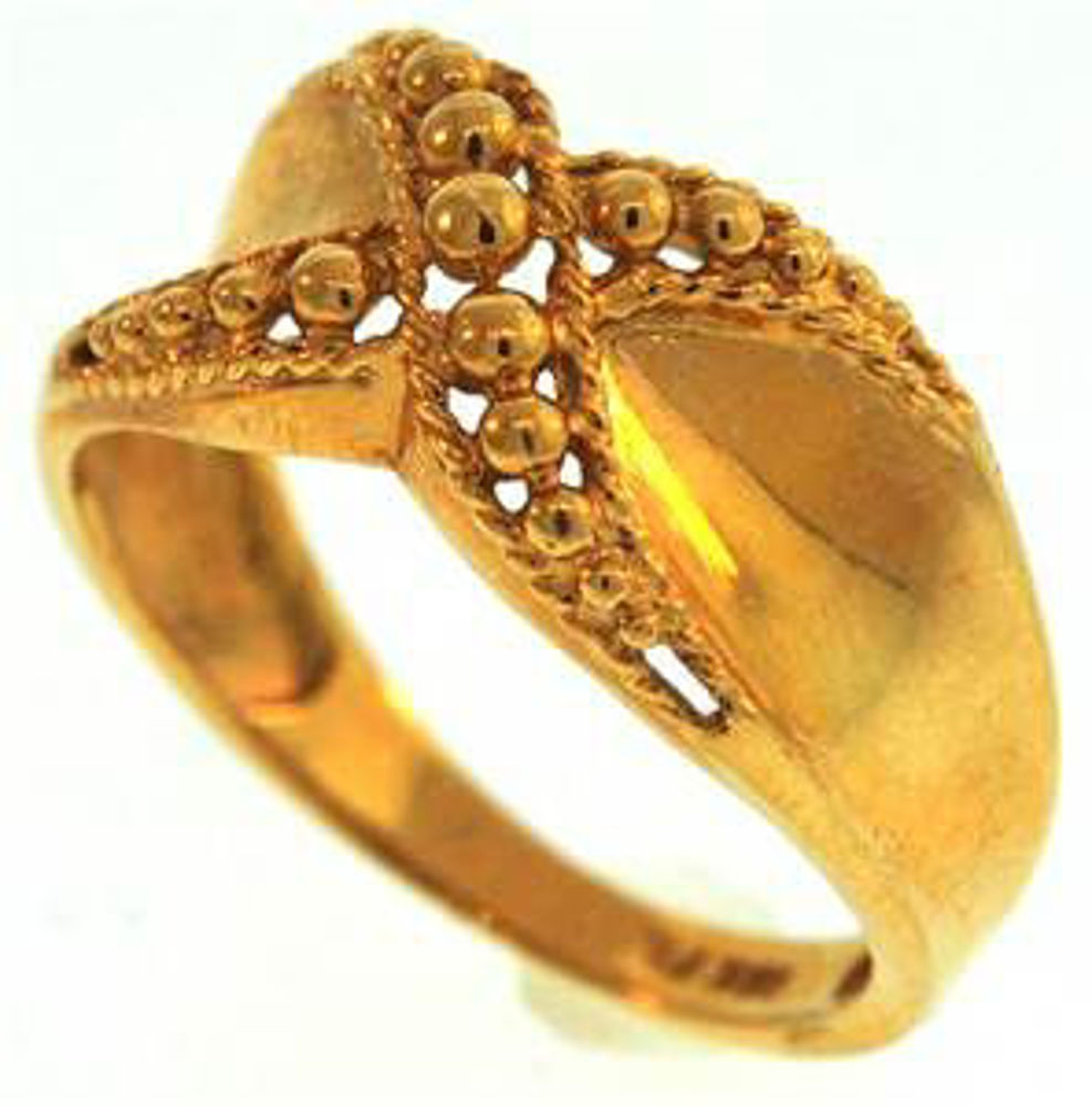 Picture of Ladies' Rings 18kt-2.4 DWT, 3.7 Grams