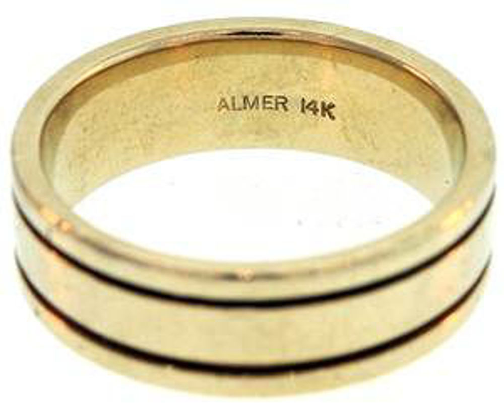 Picture of Men's Rings 14kt-7.1 DWT, 11.0 Grams