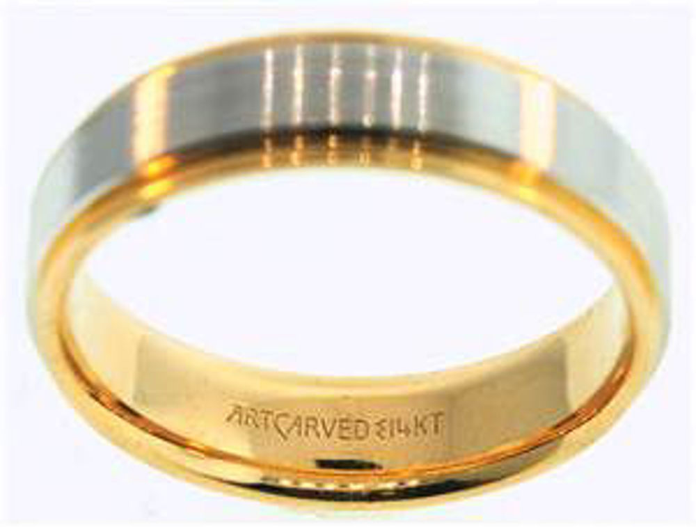 Picture of Men's Rings 14kt-2.2 DWT, 3.4 Grams