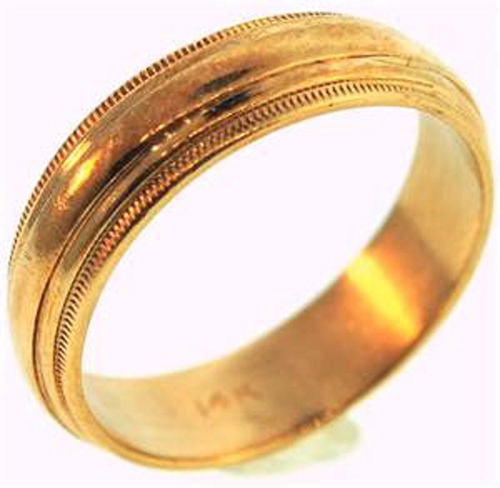 Picture of Men's Rings 14kt-3.2 DWT, 5.0 Grams