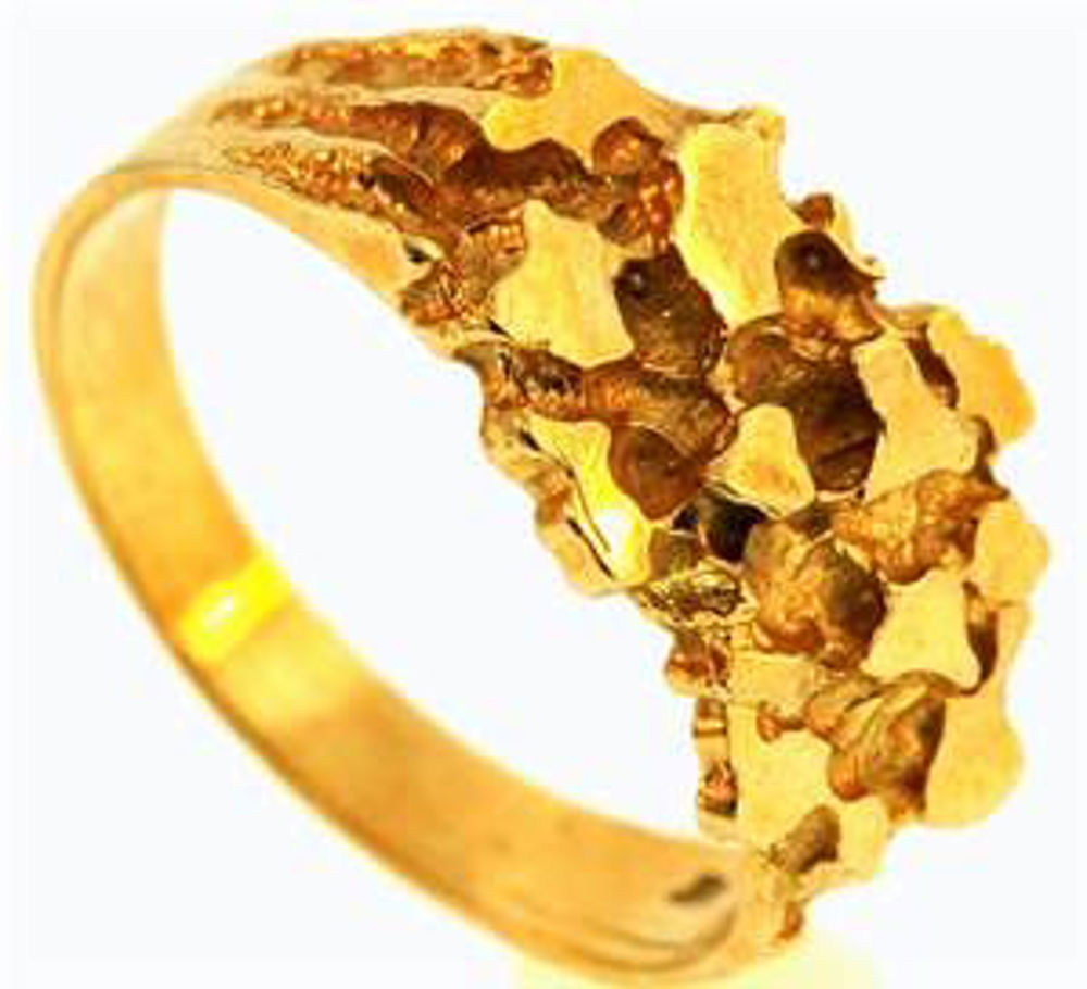 Picture of Men's Rings 10kt-2.5 DWT, 3.9 Grams