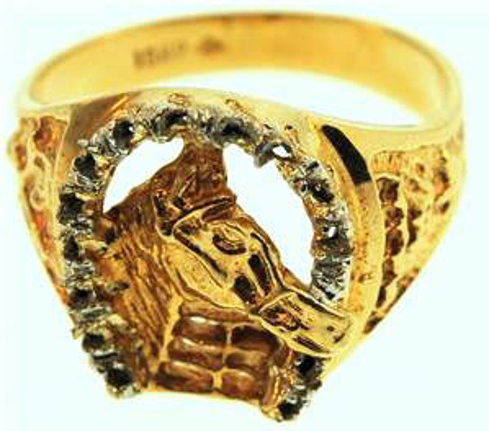 Picture of Men's Rings 10kt-4.4 DWT, 6.8 Grams
