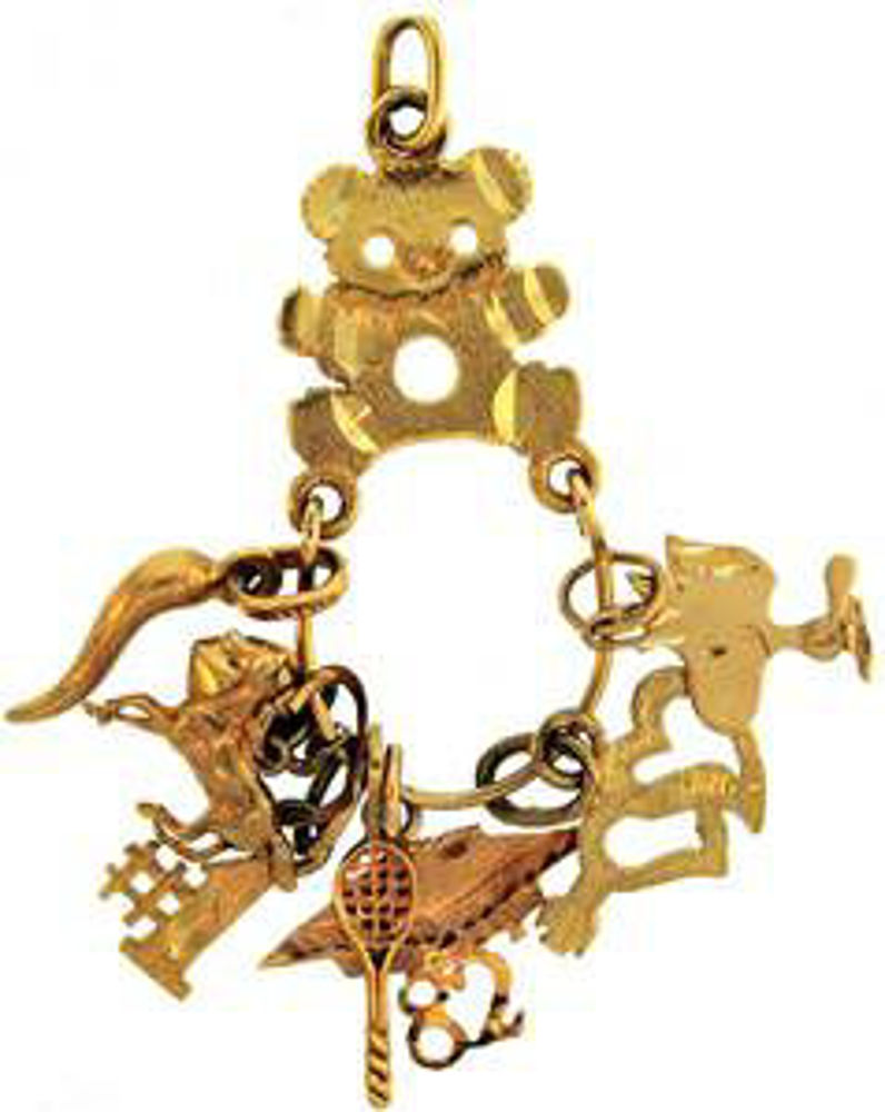 Picture of Charms & Pendants 10kt-3.7 DWT, 5.8 Grams